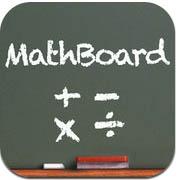Mathboard es una aplicacion matematica con la que el niño podrá sumar, restar y hacer todo tipo de operaciones