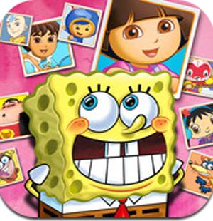 Aplicacion Nickelodeon Juegos de Memoria